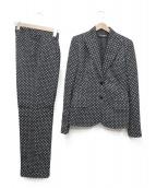 DOLCE & GABBANA(ドルチェアンドガッバーナ)の古着「3ピーススーツ」|ブラック