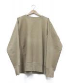 AURALEE(オーラリー)の古着「SUPER MILLED SWEAT P/O」|ブラウン