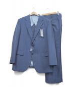 MARIO VALENTINO(マリオ・ヴァレンティーノ)の古着「セットアップスーツ」|ブルー