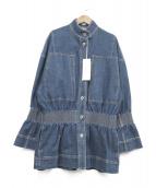 STELLA McCARTNEY(ステラ マッカートニー)の古着「デニムジャケット」|ブルー