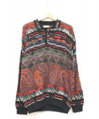 coogi(クージー)の古着「[古着]3Dニットポロシャツ」|マルチカラー