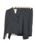 DOLCE & GABBANA(ドルチェ&ガッバーナ)の古着「セットアップ」|ブラック