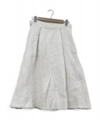 45rpm(45アールピーエム)の古着「コットンスカート」|ホワイト