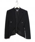 JUNYA WATANABE COMME des GARCON(ジュンヤワタナベ コムデギャルソン)の古着「ジャケット」|ブラック
