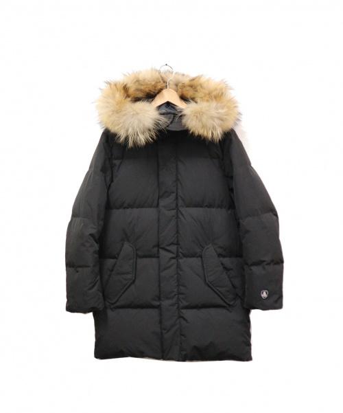 ORCIVAL(オーチバル)ORCIVAL (オーチバル) ワッシャーナイロンフーデッドダウンコート ブラック サイズ:SIZE 2 RC-8924WNYの古着・服飾アイテム