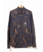 MaxSix(マックスシックス)の古着「タイダイプリントシャツ」|パープル