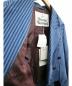 中古・古着 Vivienne Westwood (ヴィヴィアンウエストウッド) ダブルジャケット ブルー サイズ:38 イタリア製:17800円