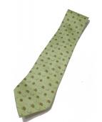 HERMES(エルメス)の古着「ネクタイ」|黄緑
