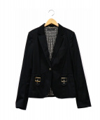 GUCCI(グッチ)の古着「テーラードジャケット」|ブラック