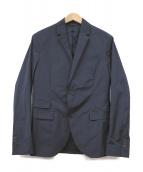 NEIL BARRETT(ニールバレット)の古着「ナイロンストレッチテーラードジャケット」|ネイビー