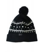 COACH(コーチ)の古着「ニット帽」|ブラック