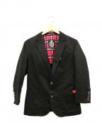 GUILD PRIME(ギルドプライム)の古着「テーラードジャケット」 ブラック