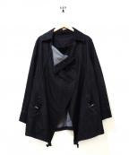 GALLERY VISCONTI(ギャラリービスコンティ)の古着「デザインデニムジャケット」|ブラック