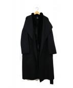 DOUBLE STANDARD CLOTHING(ダブルスタンダードクロージング)の古着「インナーベスト付き2WAYコート」|ブラック