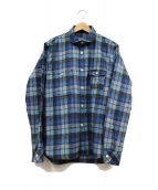 PENDLETON(ペンドルトン)の古着「チェックシャツ」|ブルー