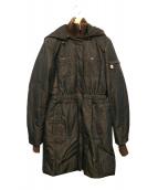 HETREGO(エトレゴ)の古着「イタリア製ダウンコート」|ブラック