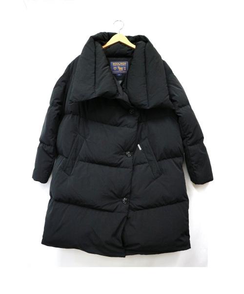 WOOLRICH(ウールリッチ)WOOLRICH (ウールリッチ) パフィダウンコート ブラック サイズ:M WWCPS2667 PUFFY COATの古着・服飾アイテム