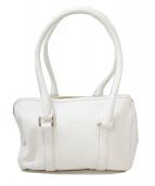 HIROFU(ヒロフ)の古着「レザーハンドバッグ」|ホワイト
