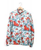 MSGM(エムエスジーエム)の古着「転写プリントシャツ」|スカイブルー