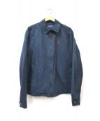 POLO RALPH LAUREN(ポロラルフローレン)の古着「スイングトップ」|ネイビー