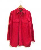 L.L.Bean(エルエルビーン)の古着「[古着]ビックシルエットシャツ」 レッド
