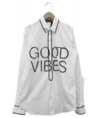 N°21(ヌメロ ヴェントゥーノ)の古着「デザインプリントシャツ」|ホワイト