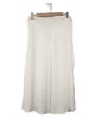 THE ROW(ザ ロウ)の古着「ロングスカート」 ホワイト