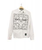 GUILD PRIME(ギルドプライム)の古着「バンダナデザインシャツ」|ホワイト