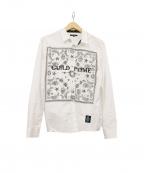 GUILD PRIME(ギルドプライム)の古着「バンダナデザインシャツ」 ホワイト