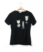 Vivienne Westwood man(ヴィヴィアンウエストウッドマン)の古着「勲章プリントTシャツ」|ブラック