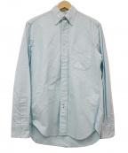 GITMAN BROS(ギットマンブラザーズ)の古着「ボタンダウンシャツ」 スカイブルー