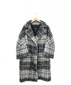 MAX MARA WEEK END LINE(マックスマーラ ウイークエンドライン)の古着「シャギーニットコート」 グレー