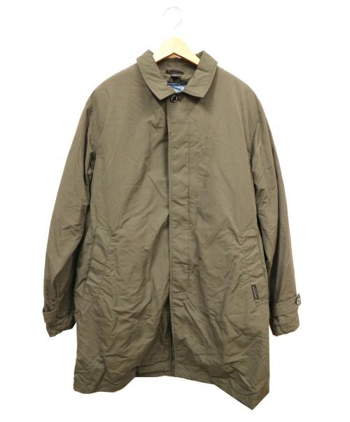mont-bell(モンベル)mont-bell (モンベル) ダウンライナー付ステンカラーコート カーキ サイズ:XLの古着・服飾アイテム