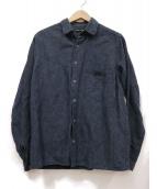 FRANK LEDER(フランクリーダ)の古着「インディゴ染シャツ」|ネイビー