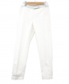 BRUNELLO CUCINELLI()の古着「テーパードパンツ」|ホワイト