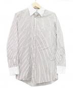 BLACK LABEL CRESTBRIDGE()の古着「クレリックシャツ」|ブラウン