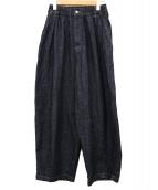 harvesty(ハーベスティー)の古着「デニムサーカスパンツ」|ブルー