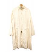 GIORGIO ARMANI(ジョルジオアルマーニ)の古着「ロングコート」|ホワイト