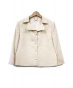 courreges(クレージュ)の古着「七分丈ジャケット」|ベージュ