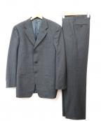 ARMANI COLLEZIONI()の古着「ウールセットアップスーツ」|グレー