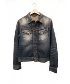 NUDIE JEANS(ヌーディージーンズ)の古着「デニムジャケット」|ブルー