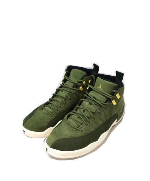 NIKE(ナイキ)NIKE (ナイキ) AIR JORDAN 12 グリーン サイズ:265 130690-301の古着・服飾アイテム