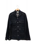 SASSAFRAS(ササフラス)の古着「デニムジャケット」|ネイビー