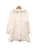MAX MARA WEEK END LINE(マックスマーラ ウイークエンドライン)の古着「リネンシャツ」|ホワイト