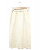 BALLY(バリー)の古着「ニットスカート」|ベージュ