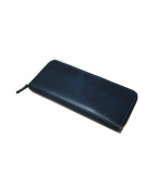 CYPRIS(キプリス)の古着「ラウンドジップ長財布」|ブルー