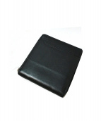 master-piece(マスターピース)の古着「カウレザー2つ折り財布」|ブラック