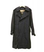 MACKINTOSH LONDON(マッキントッシュ ロンドン)の古着「ウールライナー付トレンチコート」|ネイビー