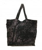 marimekko(マリメッコ)の古着「転写キャンバストートバッグ」|ブラウン