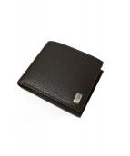 dunhill(ダンヒル)の古着「レザー2つ折り財布」|ブラウン